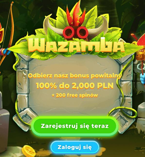 Ogromny CashBack w kasynie Wazamba!